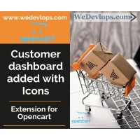 Customer Dashboard transformation added with Icons