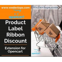Product label ribbon discount