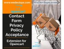 GDPR Compliance Contact form Privacy Policy Acceptance