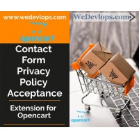 Contact form added acceptace of Privacy and Policy GDPR