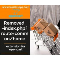 Removed Index.php at Home Page