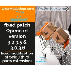 fixed patch for opencart 3.0.3.5 and 3.0.3.6