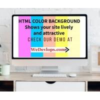 HTML Color background Joomla Module