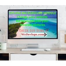 Upload Image Background